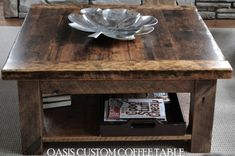 Rustic Coffee Tables | Reclaimed Wood Coffee Tables