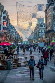 Bruxelles - Le piétonnier n'est pas mort…