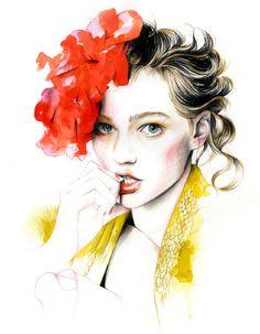 #girl #illustration #fashion
