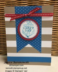 Birthday Greetings paper pumpkin, Guy Greetings stamps, JB Stamper | Just Bee-ing Creative!