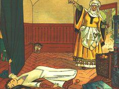 Blancanieves y los siete enanitos cuento Hermanos Grimm