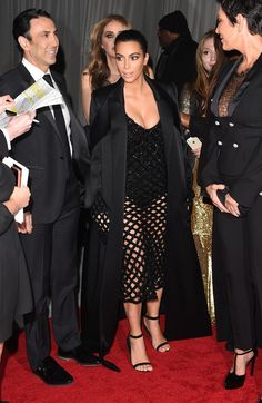 TV personality Kim Kardashian attends Rihanna's First Annual Diamond Ball at The Vineyard on December 11, 2014 in Beverly Hills, California.