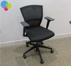 Bestuhl Black Mesh Back Operator Chair Net Price Height Adjustable Arms Synchonised Mechanism Gas Lift Weight Tensioner Buy Used Furniture, Office Furniture, Used Chairs, Black Mesh, Arms, Stuff To Buy, Home Decor, Black Knit, Arm