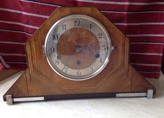 Vintage Westminister chimes mantle clock 1930's/'40s, 2'76 + 37'79 €