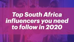 From beauty Instagram influencers, to fashion, travel, food, wellness, and more - find South African Influencers and Social Media Stars. Everything you need to know about the best ZA influencers is one click away. Social Media Stars, Instagram Influencer, Need To Know, South Africa, Digital Marketing, Blogging, African, Wellness, Travel