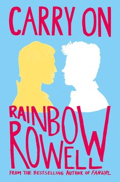#CoverReveal Carry On - Rainbow Rowell, UK pb redesign