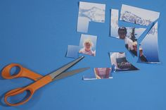 DIY Photo Puzzle for Father's Day that the kids can make