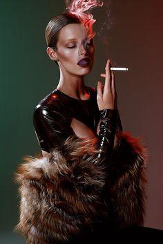 Elle Brazil January 2014 | Flavia Lucini by Nicole Heiniger