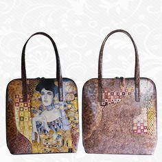 Kabelky Kožené výrobky - Page 5 of 5 - Kožená galantéria a originálne ručne maľované kožené výrobky Woman In Gold, Kate Spade, Gustav Klimt, Adele, Bags, Women, Fashion, Handbags, Moda