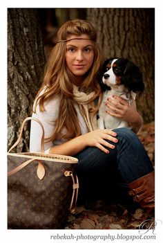 Cavalier King Charles Spaniel & Louis Vuitton <3