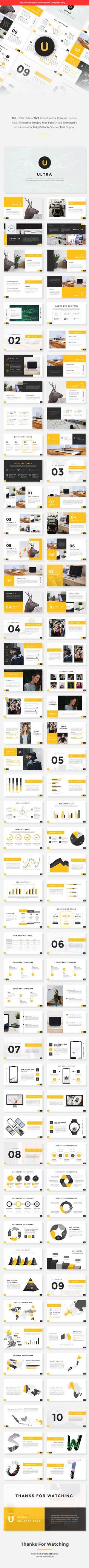 Ultra - Creative PowerPoint Template