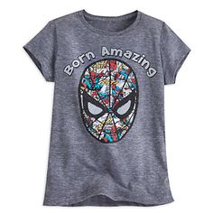Spider-Man Tee for Girls | Disney Store