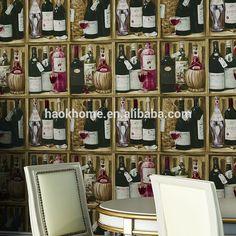 Vinile vino scaffale armadietto vintage retrò sfondi, per la casa bar cucina decorazione ristorante, carta da parati di design-Carte da parati/rivestimento della parete-Id prodotto:1909191792-italian.alibaba.com