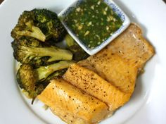 Lake Trout With Nuoc Mam Gung and Broccoli | Serious Eats : Recipes