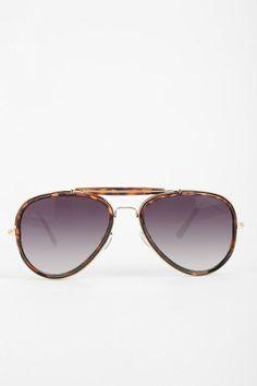 Top Trooper Aviator Sunglasses #urbanoutfitters