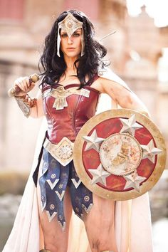 Earlier today, we talked about the news that Gal Gadot was just cast as Wonder Woman, despite her not exactly looking the part. But if cosplay has taught Marvel Cosplay, Dc Cosplay, Best Cosplay, Cosplay Girls, Awesome Cosplay, Gal Gadot, Cool Costumes, Cosplay Costumes, Halloween Costumes