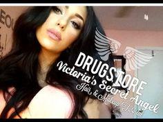 ▶ ♡ DRUGSTORE Victoria's Secret Angel Makeup & Hair Tutorial Ft. NuME & Delilah Hair ♡ - YouTube