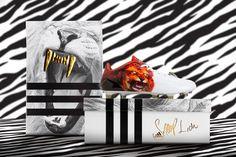 The Adizero 5-Star Snoop Lion Boots Feature a Roaring Lion Print #celeb #fashion trendhunter.com