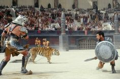 Still of Russell Crowe in Gladiator (2000)