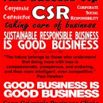 Gaye Crispin's Business Clinic - ABC Success Tip - #CSR Good Business Is Good Business