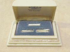 Deco Celluloid Ring Box- Rare 3 ring holder from runwayvintage on Ruby Lane