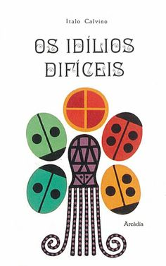 "Sebastião Rodrigues |  Cover for book ""Os ìdilios Dificéis"". 115mm x 190mm.  1962"