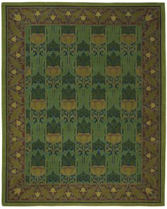 Annesley (Parsley) from the Bradbury & Bradbury rug collection, exclusively at Tiger Rug