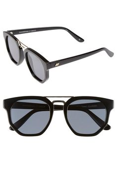 Le Specs  Thunderdome  52mm Polarized Sunglasses available at  Nordstrom  Femmes À Lunettes De 4798a3caffe4