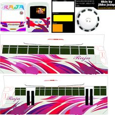 Bus Games, Truck Games, Star Bus, Ashok Leyland, New Bus, Busses, Kerala, Diy For Kids, Paper Crafts