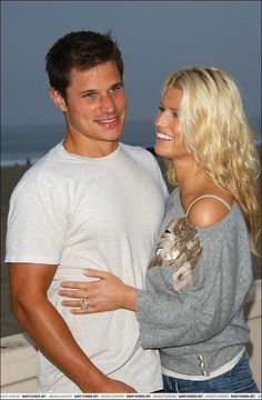 jessica simpson and nick lachey they were so perfect together :(