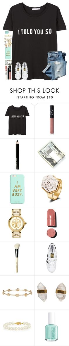"""""""•I told you so•"""" by tortor7 ❤ liked on Polyvore featuring MANGO, Gap, NARS Cosmetics, Isadora, Kenneth Cole, ban.do, Tory Burch, Chanel, Bobbi Brown Cosmetics and adidas Originals"""