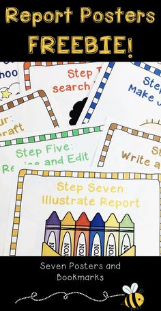 Add these posters to your next report writing activity when teaching about the report writing process to your Grade 1, Grade 2, and Grade 3 students! animal report, animal research project, report writing, animal report template, teaching report writing, informational writing about animals, report writing posters, #writingfreebies, #reportwriting, #writingactivities, #teachingwriting, #firstgrade, #secondgrade, #thirdgrade, #teachingwithatouchofhoney Primary Teaching, Teaching Writing, In Writing, Writing Activities, Elementary Teaching, Writing Ideas, Teaching Ideas, Animal Activities, Research Writing