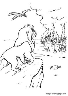 lion king 2 coloring pages Googlesgning Printable Color Pages