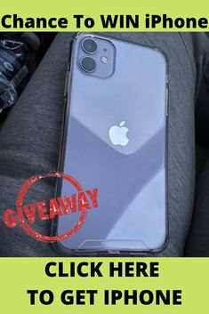 How to Win a free iPhone 11 from apple? Get a free 11 . Get a free phone upgrade with this Right now you can enter for the chance to win an 11 ! Receive the brand new 11 upon sign-up! Check My Site for more info. Get Free Iphone, Buy Iphone, Iphone 11, Apple Iphone, Win Phone, Iphone Online, Free Iphone Giveaway, Iphones For Sale, Iphone Case Covers