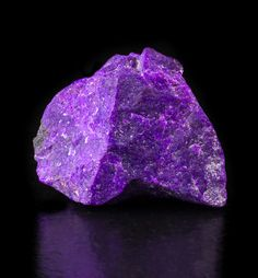 Amazingly purple sugilite from South Africa