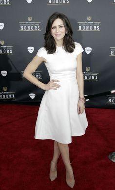 white dress - katherine mcphee