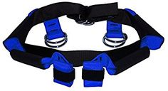 Doty Belt Lift Assist Harness - Fall Prevention Gait belt to safely lift and maneuver heavy, elderly, or injured patients - Reduce risk of back injury for providers - Perfect for nursing homes, hospitals, search and rescue - (Small)_