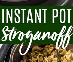 This Instant Pot Beef Stroganoff recipe results in the most tender beef in a saucy creamy gravy. The egg noodles even cook in the same pot making for easy cleanup and a no-fuss meal. #instantpotrecipe #instantpot #stroganoff #pressurecooker #beefstroganoff  FULL RECIPE HERE  Pasta Dough Recipe  pasta dough recipe kitchenaid pasta dough recipe pasta dough recipe for kitchenaid pasta dough recipe kitchenaid pasta dough recipe semolina pasta dough recipe with semolina pasta dough recipe ravioli…