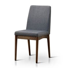 Furniture of America Grey Upholstered Dining Chairs (Set of 2) | Overstock.com Shopping - The Best Deals on Dining Chairs