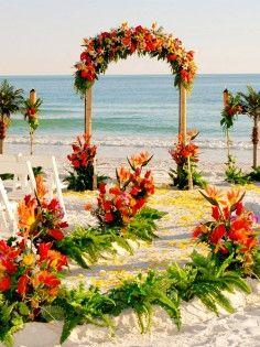 Beach Wedding Decoration Ideas For Tropical Area