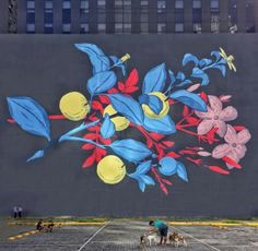 Street Art by PastelFD, Located in Manila, Philippines