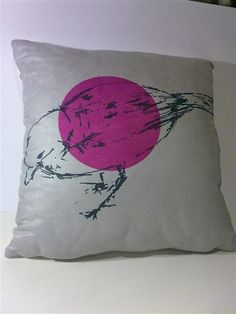 gorgeous cushion by Cheryll Kung