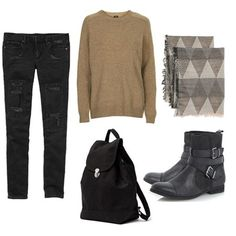 Saturday Style: The Ultimate Outfit For Fall Fun : Lucky Magazine