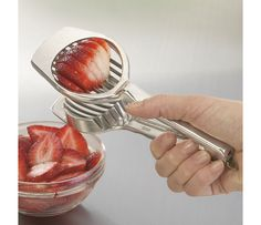 Egg Slicer to cut strawberries