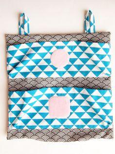 tuto-pochette-lingettedemaq-babacha-18 Louis Vuitton Damier, Shoulder Bag, Sewing, Crochet, Pattern, Diy, Bags, Ranger, Voici