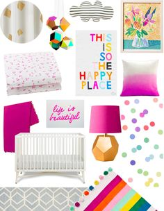 A Lovely Lark: Spring Fling Cool Berry Inspired Nursery #BRITAXStyle