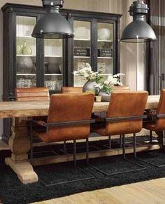 52 Rustic Industrial Decor and Design Ideas Salons Cosy, Rustic Industrial Decor, Industrial Storage, Industrial Design, Interior Decorating, Interior Design, Deco Design, Design Design, Design Ideas