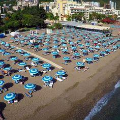 Beach! #becici #budva #hotelmediteran #vacation #summer #beach #sea #Montenegro #water #swiming #wildbeauty
