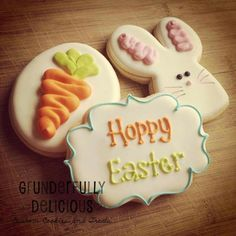 Easter cookies by Grunderfully Delicious