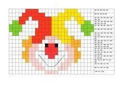 Risultato immagini per coding nella scuola primaria schede pixel art